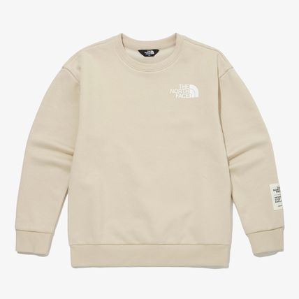 THE NORTH FACE キッズ用トップス THE NORTH FACE K'S ESSENTIAL SWEATSHIRTS MU2737(10)