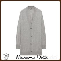 MassimoDutti♪FLOWING CARDIGAN WITH BUTTONS