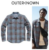 Outer known(アウターノウン) シャツ 【Outer known】大人気!BLANKET シャツ−Pacific Old Coast