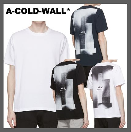 *A-COLD-WALL**バック ロゴ グラフィック Tシャツ