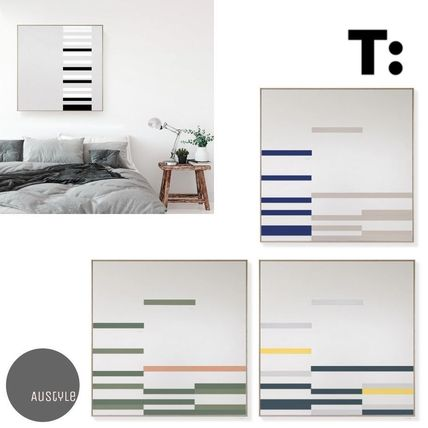TOO DESIGNS■'LINEAR' Magnetic Art Square Canvas 4パターン♪