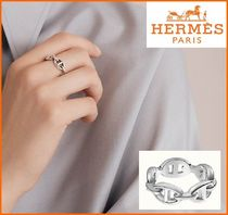 HERMES Chaine d'Ancre Enchainee ring/指輪, small model/PM
