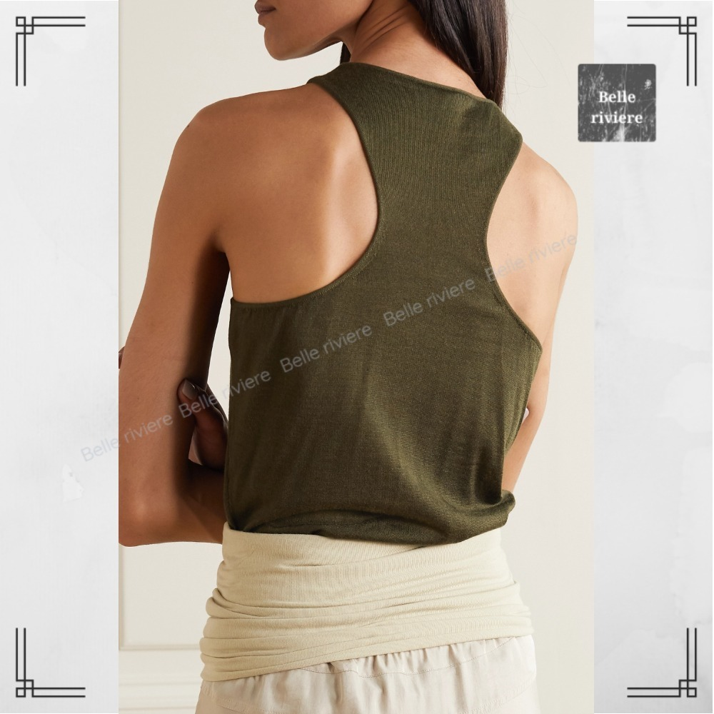 TOM FORD 21SS sale/ Cashmere and silk-blend tank (TOM FORD/タンクトップ) 72101313
