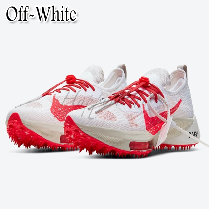 Off-White×NIKE コラボ激レア!AIR ZOOM TEMPO NEXT% FLYKNIT (Off-White/スニーカー) 72103017