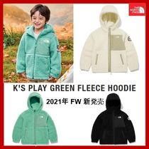 [THE NORTH FACE] K'S PLAY GREEN FLEECE HOODIE