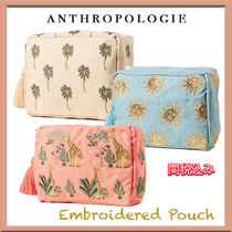 Anthropologie★Embroidered Pouch 可愛い 刺繍 ポーチ♪関税込