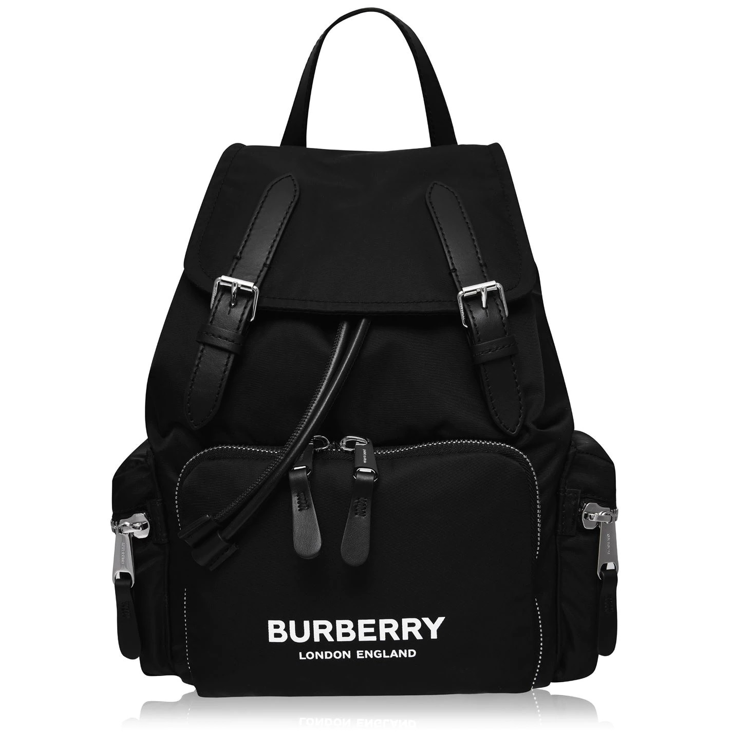 BURBERRY RUCKSACK IN TECHNICAL NYLON AND LEATHERバッグ (Burberry/バックパック・リュック) 72119903