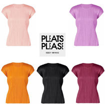 ISSEY MIYAKE(イッセイミヤケ) Tシャツ・カットソー PLEATS PLEASE ISSEY MIYAKE ★ MONTHLY COLORS : AUGUST tops