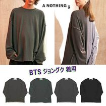 A NOTHING★BTS 愛用★ VINTAGE P. DYEING CUT-OUT BOX TEE 人気