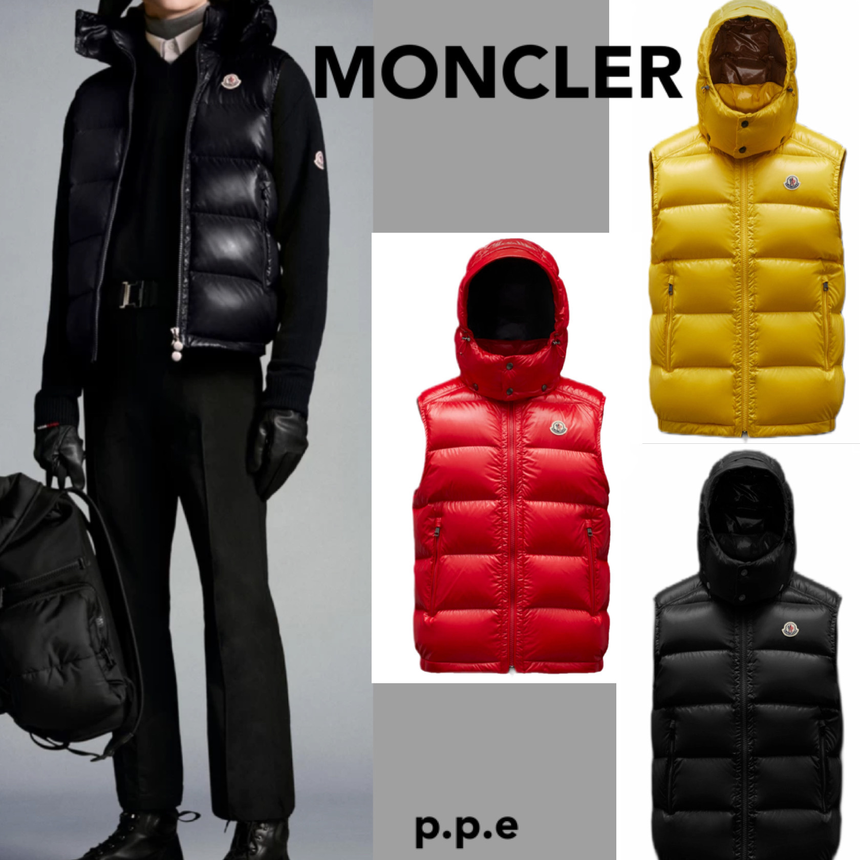 * MONCLER * モンクレール VESTS 【 Bormes 】 (MONCLER/ダウンベスト) G20911A0015268950