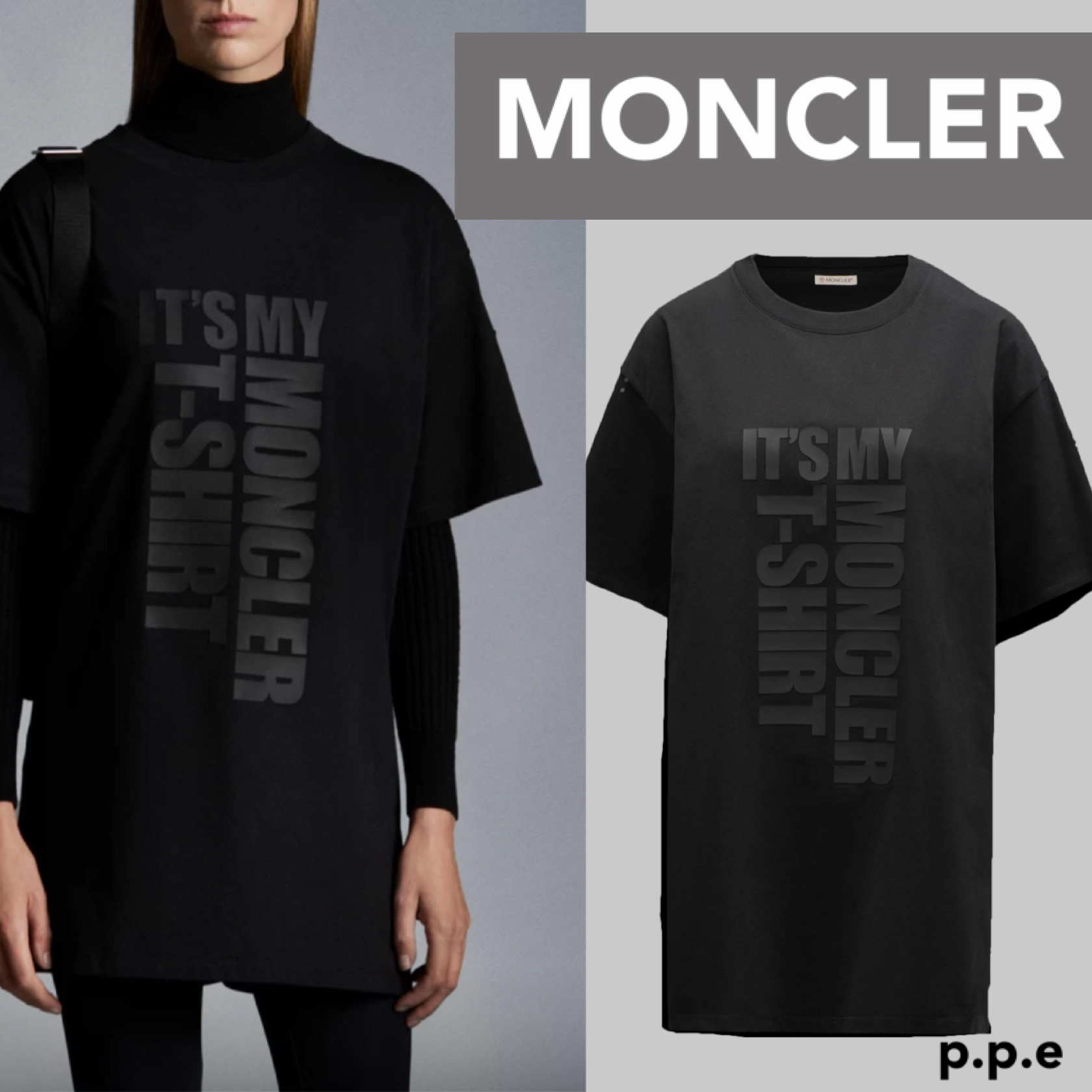 * MONCLER * モンクレール T-shirt with graphic (MONCLER/Tシャツ・カットソー) G10938C7A210829HP
