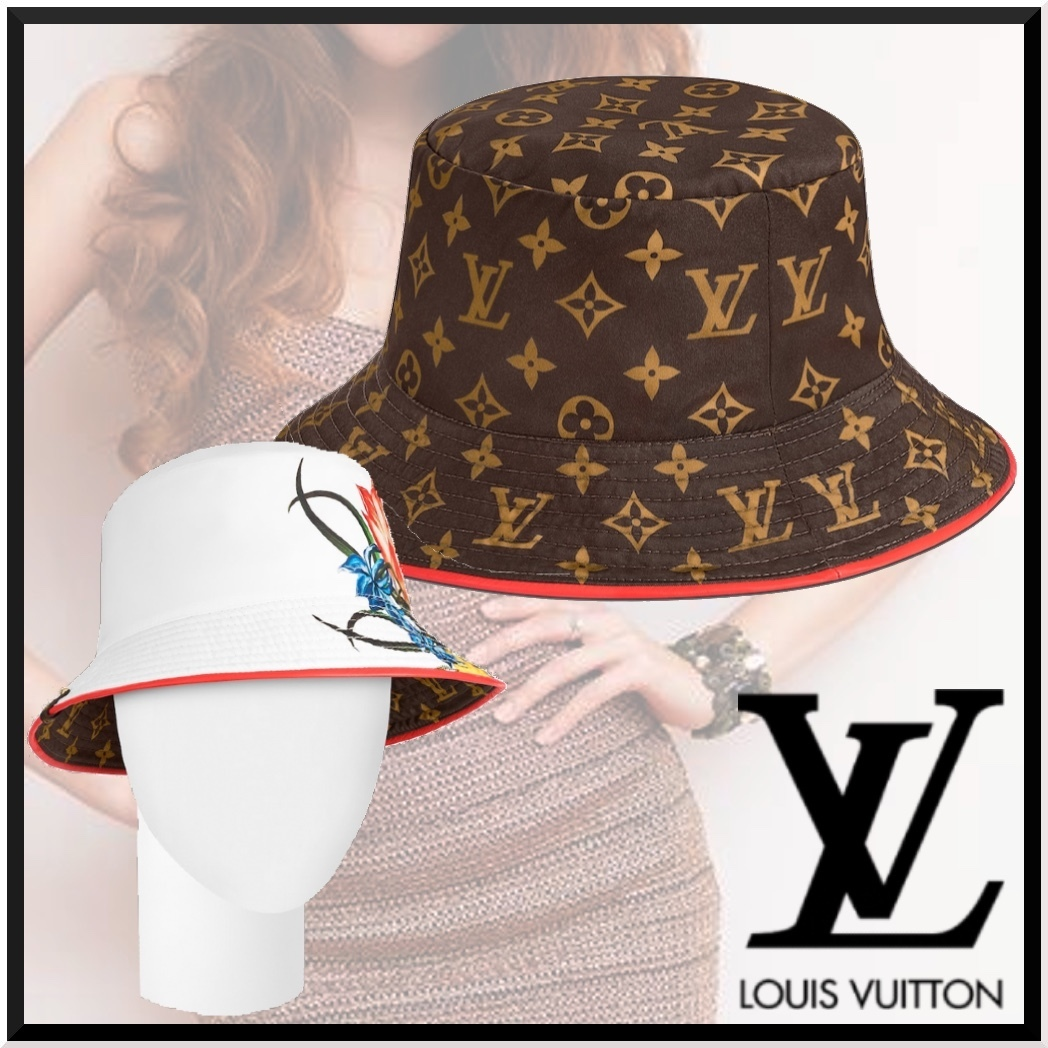 【★】Louis VuittonFALL IN LOVEリバーシブルハット (Louis Vuitton/ハット) M00469  M00470