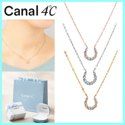 canal4℃ カナル4℃ シルバー ネックレス 馬蹄 ギフト国内発