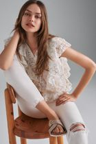 Verb by Pallavi Singhee ★ Ruffled Lace Blouse