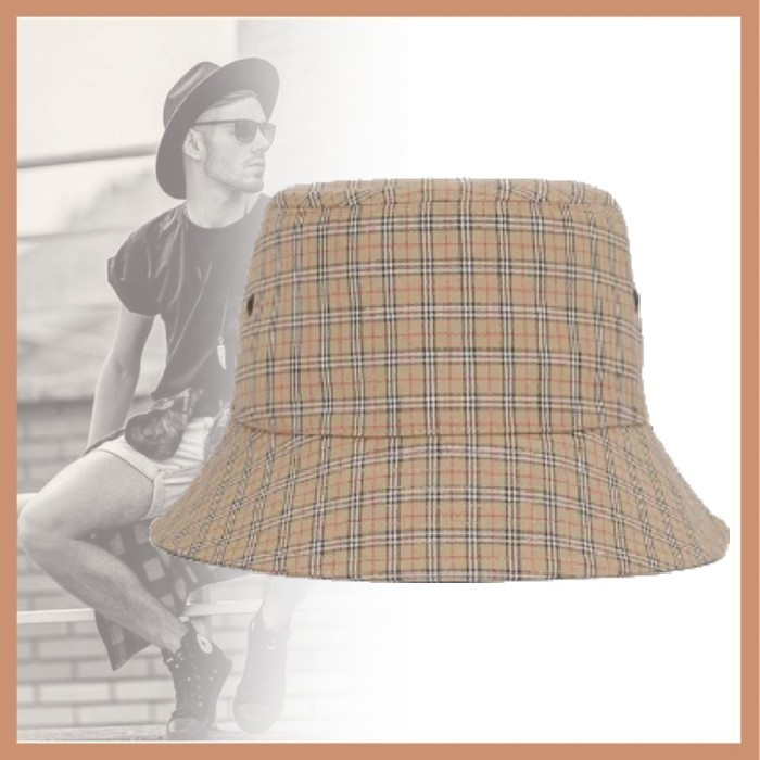 21AW◆LXストリート◆BURBERRY◆Technical Cotton Bucket Hat (Burberry/ハット) 72194934