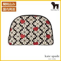 spade flower jacquard hearts large dome ポーチ◆国内発送◆