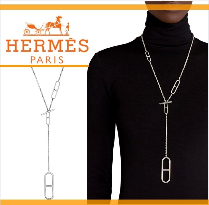 ☆HERMES <Ever Chained'Ancre> ロングネックレス (HERMES/ネックレス・ペンダント) 72197631