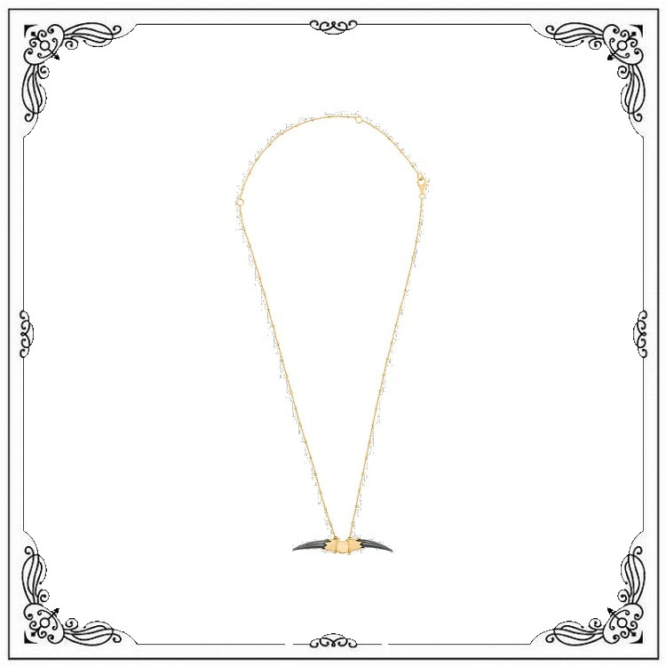 Double Claw ネックレス (KASUN LONDON/ネックレス・チョーカー) WCN057GGOLDPLATEDDOUBLECLAWNECKLACE