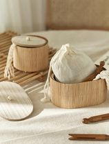 ★DECO VIEW★natural bamboo ミニ小物入れセット