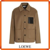LOEWE WORKWEAR JACKET IN WOOL AND CASHMERE