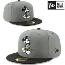 New Era×MICKEY MOUSE★STORM GREY 59FIFTY FITTED キャップ