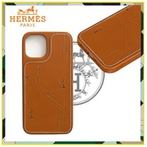 《HERMES★激レア》直営店 iPhone12/12Proケース H0007441A34