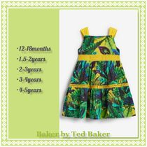 TED BAKER(テッドベーカー) キッズワンピース・オールインワン Baker by Ted Baker★ トロピカル ティアードワンピース