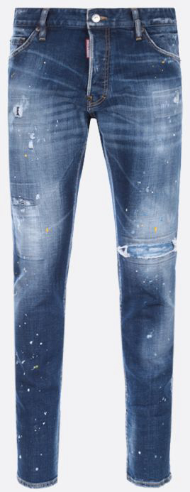 DSQUARED2■aw21/本命COOL GUY DISTRESSED-EFFECT ジーンズ (D SQUARED2/デニム・ジーパン) S74LB0956S30342470
