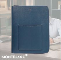 Montblanc(モンブラン) バッグ・カバンその他 ◆Montblanc◆ Sartorial Cross-Grain Leather Notebook Holder