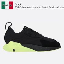 Y-3 Orisan sneakers in technical fabric and suede