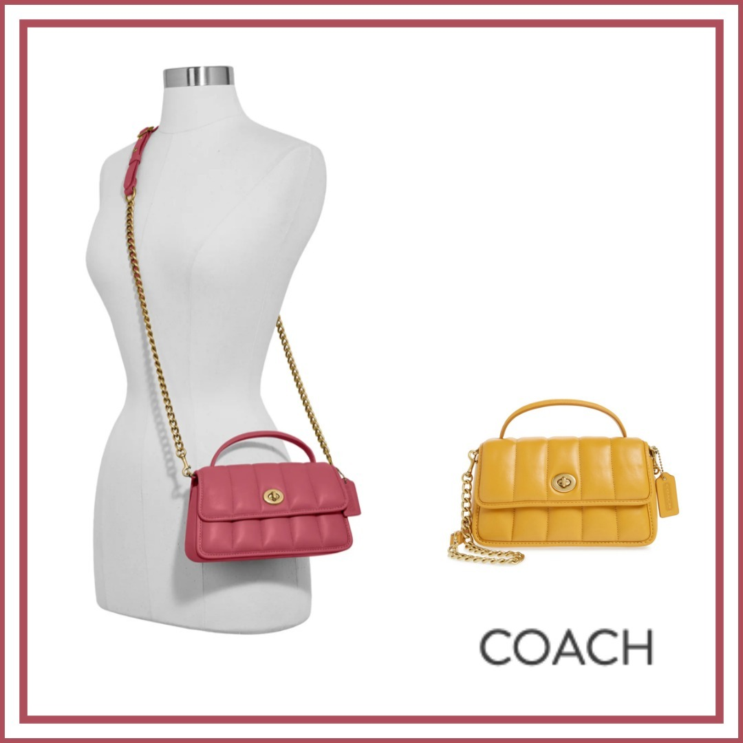 (18204)Coach☆Turnlock 20 Quiltedクロスボディ (Coach/ショルダーバッグ・ポシェット) 18204