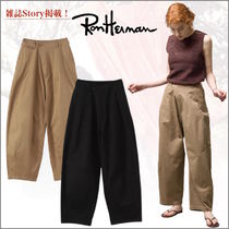 【Story掲載】Ron Herman ロンハーマン Wide Chino Pants 綿素材