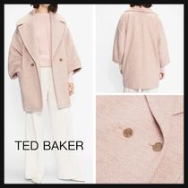 【TED BAKER】新作!JJULIET Oversized Cocoon コート ピンク