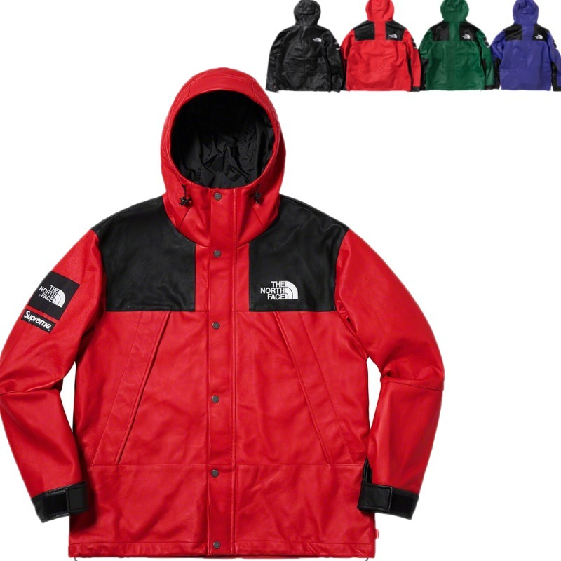 FW18 Supreme The North Face Leather マウンテンパーカー (Supreme/マウンテンパーカー) 72307112