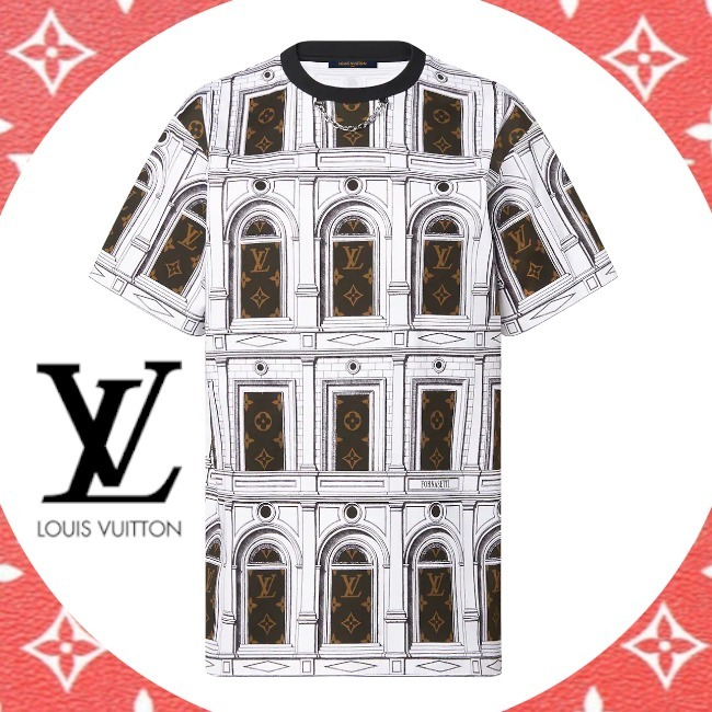 21AW ルイヴィトン モノグラムアーキテクチャTシャツ 1A9BH5 (Louis Vuitton/Tシャツ・カットソー) 72322911