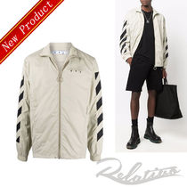 ☆21AW☆【Off-White】DIAGONALS ナイロン ウインドブレーカー