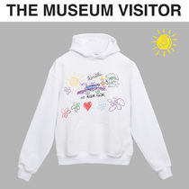 THE MUSEUM VISITOR(ザミュージアムビジター) パーカー・フーディ [THE MUSEUM VISITOR] WHITE SKETCH HOODY★アートフーディ