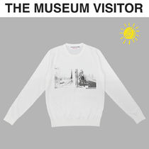 THE MUSEUM VISITOR(ザミュージアムビジター) ニット・セーター [THE MUSEUM VISITOR] BERLIN SPRING KNIT★アートプリント