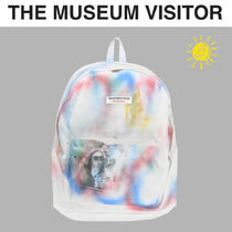 THE MUSEUM VISITOR(ザミュージアムビジター) バックパック・リュック [THE MUSEUM VISITOR] SPRAYED BACKPACK★アートワークパック