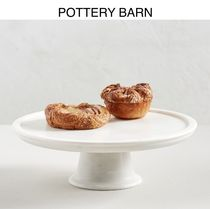 ★POTTERY BARN★Marble Cake Stand