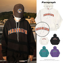 Paragraph(パラグラフ) パーカー・フーディ 【Paragraph】21FW★ EMBROIDERY LOGO HOODIE No.34