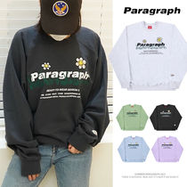 【Paragraph】21FW★ FLOWER EMBROIDERY SWEATSHIRT No.35