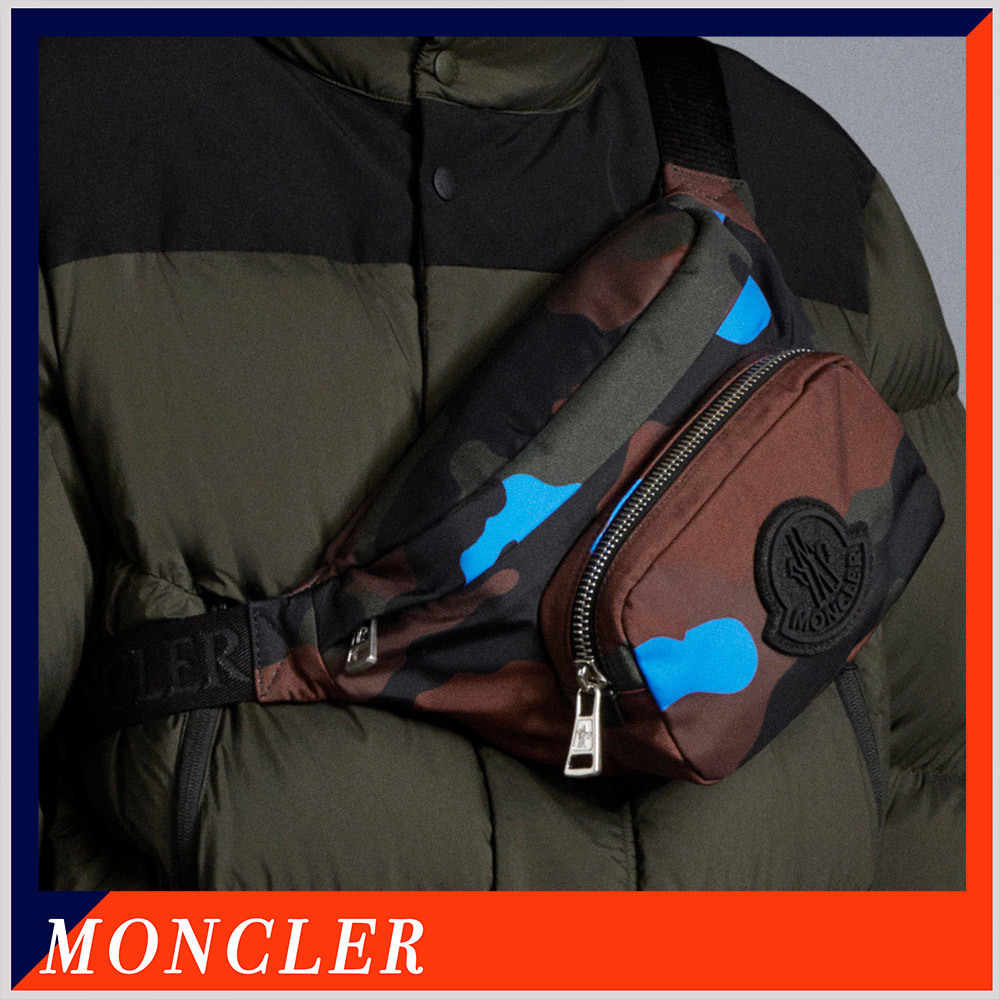 MONCLER  Durance カモフラージュ柄 ウエストバッグ (MONCLER/バッグ・カバンその他) 72378250