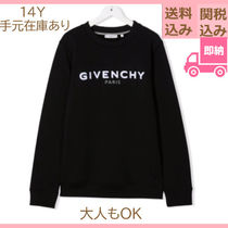 GIVENCHY(ジバンシィ) キッズ用トップス 国内発送 GIVENCHY KIDS 大人OK ロゴ スウェット シャツ