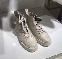 """""""COS""""コス新作☆LEATHER HIGH TOP TRAINERS"""