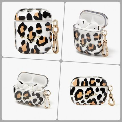 【kate spade】  bradley leopard airpods/pro ケース ヒョウ柄
