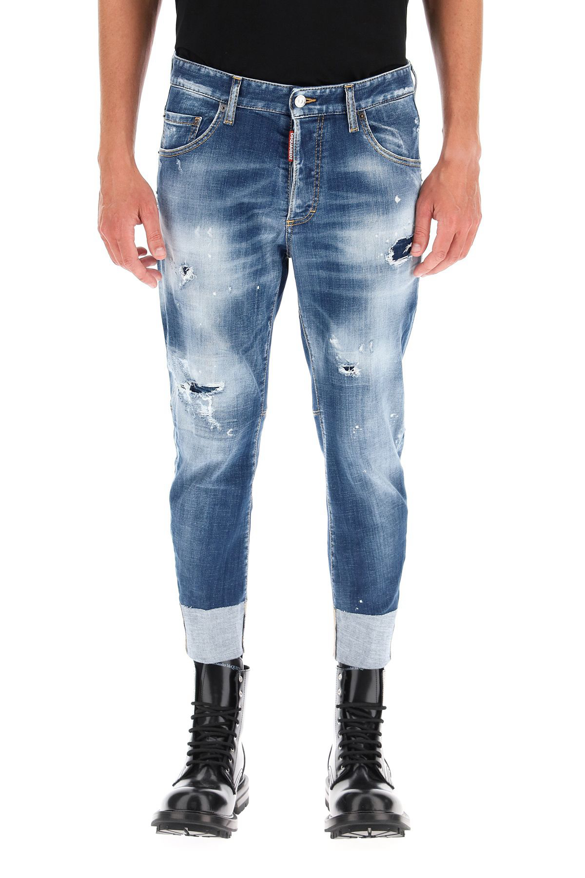 【DSQUARED2】★21秋冬SAILOR FIT JEANS (D SQUARED2/デニム・ジーパン) S74LB0955 S30342