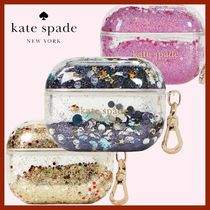 【kate spade】AirPods Pro ケース リキッド グリッター