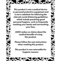 ASOS♡送料込 ASOS DESIGN 5 pack face coverings with ad