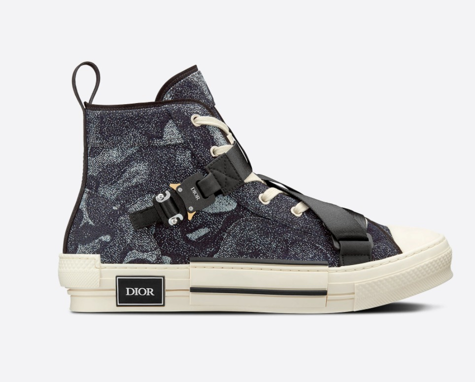 【DIOR AND PETER DOIG】B23 ハイトップスニーカー (Dior/スニーカー) 3SH122ZLW_H961